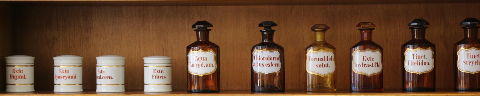 Tarros farmacéuticos - Fundación Juan Esplugues